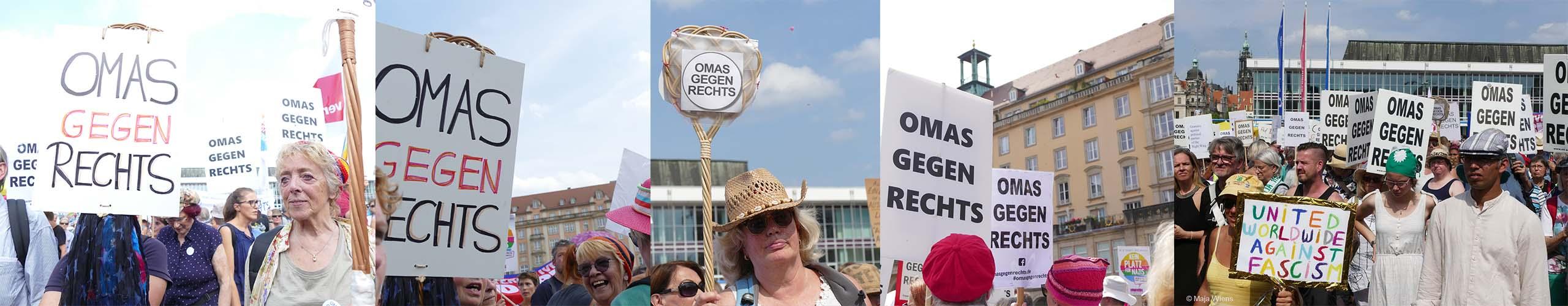 OMAS GEGEN RECHTS DEUTSCHLAND-BÜNDNIS